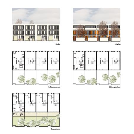Einfamilienhäuser Alte Gießerei Bautzen