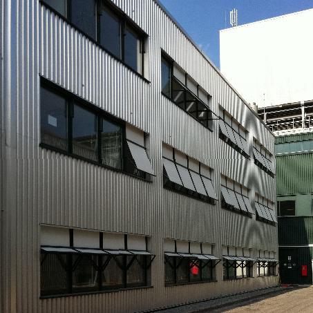 Perspektive Außen Laborgebäude Sachsenmilch