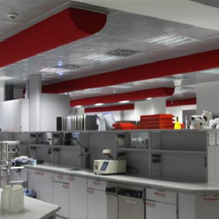 Perspektive Innenraum 1 Laborgebäude Sachsenmilch