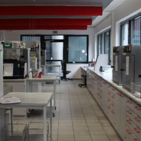 Perspektive Innenraum 2 Laborgebäude Sachsenmilch